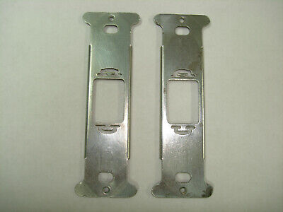 2x Despard Device Bracket Switch Outlet Receptacle Metal Wall Bracket Vertical
