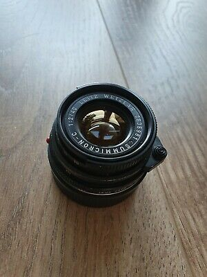 Leica Summicron C 40mm F/2 (Adapted For M Bodies)