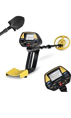 INTEY Pinpoint Metal Detector - Lightweight Gold Detector with Waterproof Coil