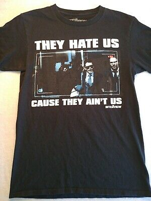 They Hate Us Because They Ain/'t Us Custom Mens Long Sleeve T-Shirt Tee-Sport Gry
