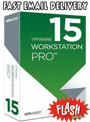 VMWare Workstation Pro 15.0.2. Für 3 PCs| Key Lifetime+Updates | Windows