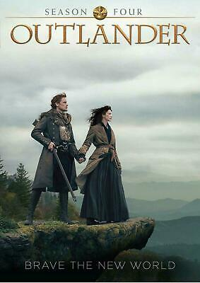 Outlander Season 4 DVD 2019 DOES NOT PLAY IN USA PLAYERS UK Compatible