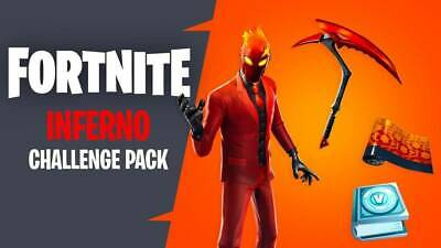 ⭐️Instant⭐️ Fortnite Inferno Challenge Bundle Pack Xbox One + 1000 Vbucks Europe