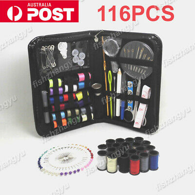 NEW Portable Sewing Kit Home Travel Emergency Professional Sewing Set AU