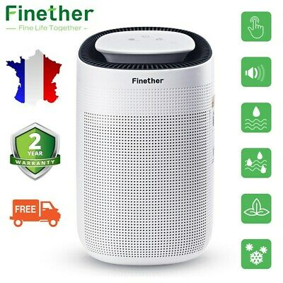 Finether Déshumidificateur d'air Electrique Purificateur Séchage d'humidité EU