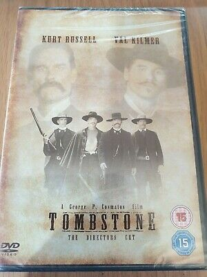 Tombstone Dvd! (Kurt Russell) New And Sealed, Free Uk P&P!