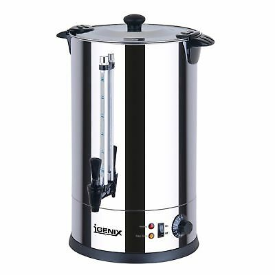 New Igenix 8.8L Stainless Steel Commerical Catering Tea Urn 950W (Our Ref:AA012)