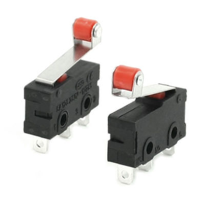 3 Pcs Mini Micro Limit Switch Roller Lever Arm SPDT Snap Action # 3d printer CNC