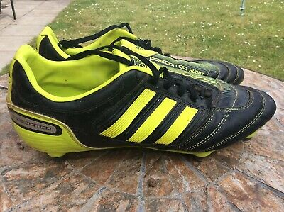 hot sales ed99d 6fc4c Mens Adidas Predator Absolado RX SG rugby boots in black yellow,UK Size 10
