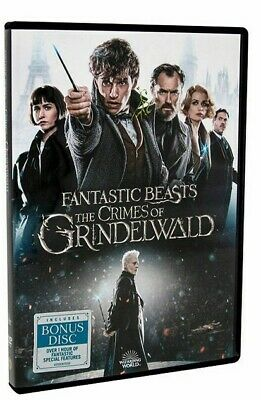 Fantastic Beasts: The Crimes of Grindelwald (DVD, 2019)