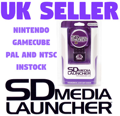 NINTENDO GAMECUBE SD MEDIA LAUNCHER + * EXTRAS! * BNIB SEALED NTSC or PAL STOCK