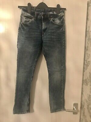 H&M Boys Tapered Light Blue Jeans 9-10