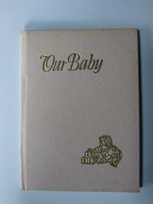 Baby Books & Albums Hot Sale Vintage *1919* Sanitoy White Baby Book Memory Album Keepsake Record And Box New Baby