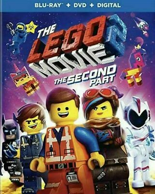 The LEGO Movie 2: The Second 2nd Part (Blu-ray/DVD/Digital) w/Slipcover Like New