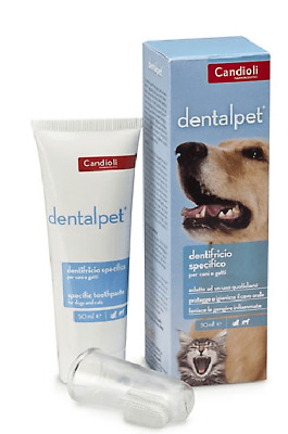 Candioli Dental Pet Dentifricio per Cani e Gatti