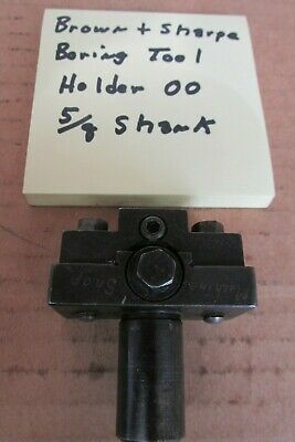 Brown & Sharpe OO boring bar tool holder