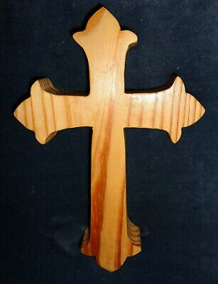 Handcrafted Wooden Wall Cross #2