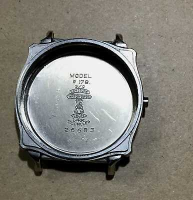 Vintage Art Deco Illinois Model 176 -3/0 watch caseback ONLY