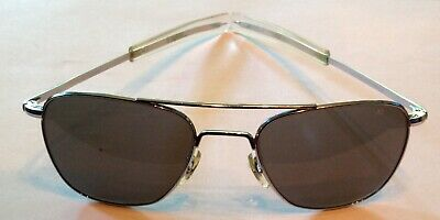 American Optical AO Origina Pilot Aviator Gray Sunglasses Excellent Condition