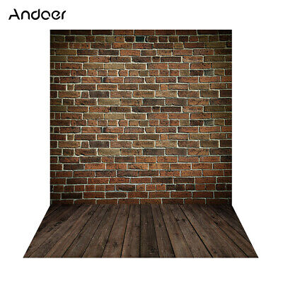 Andoer 1.5*2m Big Photography Background Backdrop Classic Fashion Wood A6Y6