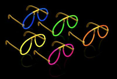 Glow in the Dark Glow Glasses Sets Neon Glow Sticks Glosticks for Party Gift