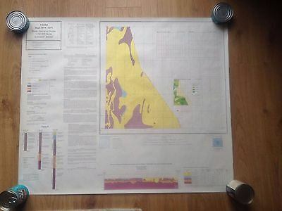FISHER British Geological Survey Map 1:250000 UTM Series Flat