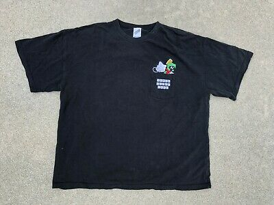 Marvin The Martian Men's Vintage 90s Looney Tunes Space Jam Polo Shirt | 2XL