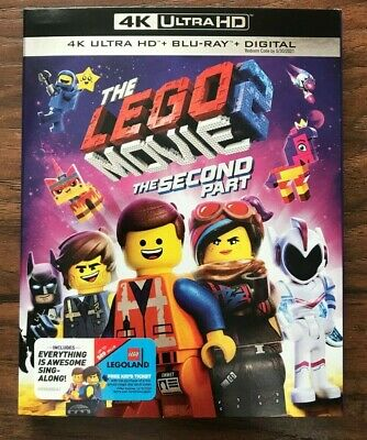 The Lego Movie 2: The Second Part (4K UHD + Blu-ray) w/ Slipcover (NO DIGITAL)
