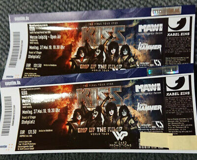 Kiss Messe Leipzig 2019 Front of stage 2 Tickets