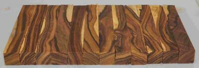 "Desert Ironwood SAPWOOD 12 pen blanks turning blocks 5"" x .75"" x .75"" Group P72"