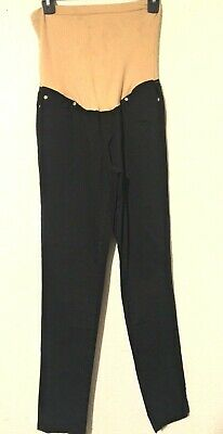 d07f1935cb738 PLANET MOTHERHOOD MATERNITY Full-Panel Woven Pants W Button-Front ...