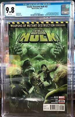 Totally Awesome Hulk #22 CGC 9.8 1st Print 1st App Weapon H (see also Immortal)