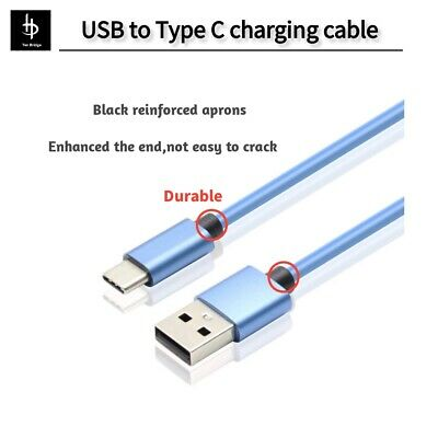 USB-C USB Type C Cable to USB Type A Fast Charger Data Cable Charging Cord