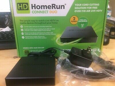 HD HOMERUN CONNECT Duo - Great Condition! HDHRS-2US + SKYTV