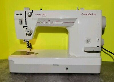 PFAFF GrandQuilter HOBBY 1200 Sewing Machine, Rolling Carry Case & Sew Steady
