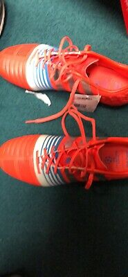 402e264a64b Adidas Nitrocharge 1.0 TRX FG mens soccer cleats Size US 9  silted silvmt cmwhite