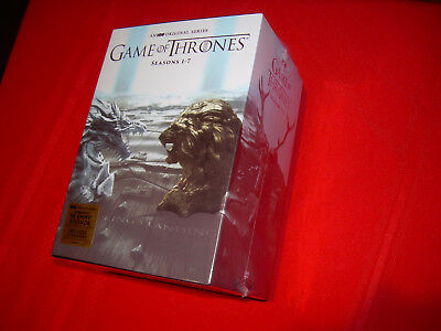 Complete Season 1-7 One-Seven DVD Sealed Box Set NEW GAME OF THRONES