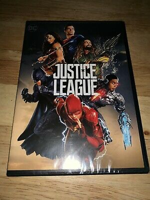 Brand New Justice League DVD 2017