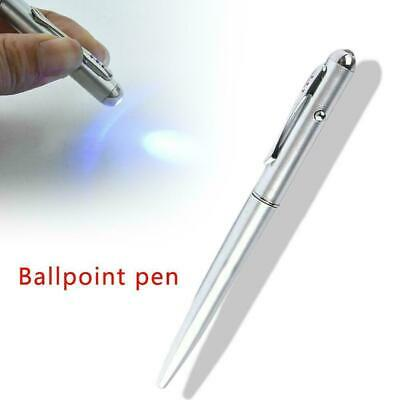 Creative Magic LED UV Light Ballpoint Pen with Invisible Ink Secret For Sale