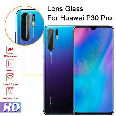 2 Pack For Huawei P30 Pro Rear Camera Lens HD Tempered Glass Screen Protector