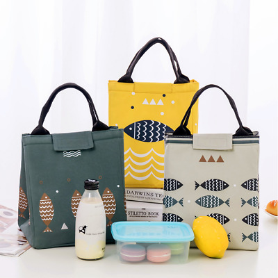Portable Thermal Insulated Cooler Waterproof Picnic Lunch Box Storage Bag Pouch
