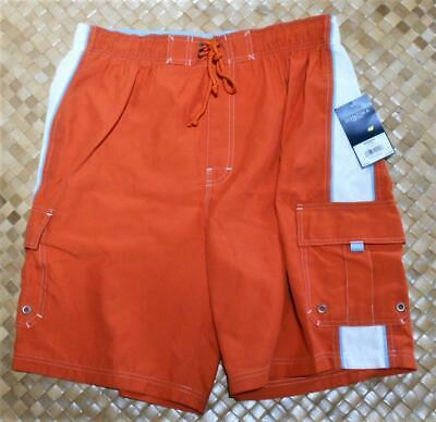 8764af7499 $30 Large New Sonoma Mens Volley Swim Trunks Board Shorts Mesh Lining Poly  NWTS