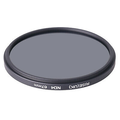 Zykkor 62mm Neutral Density ND4 0.6 ND 4 HD Optical Glass Filter