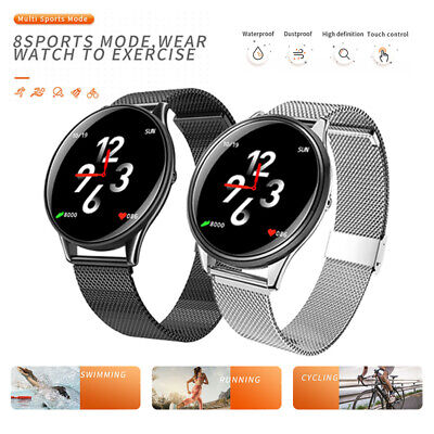BLUETOOTH ULTRA THIN Smart Watch Heart Rate Monitor Bracelet for