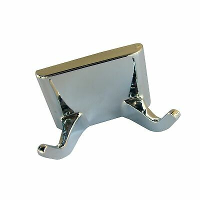LASCO 35-5003 Hallmack Style Double Robe Hook Accessory, All Metal Constructi...