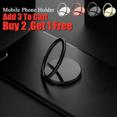 Bracket Finger Ring Holder Mobile Phone Stand For iPhone Samsung xiaomi HUAWEI