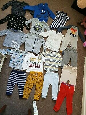 baby boys clothes 12-18 and 18-24 months bundle
