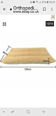 Orthopedic Dog Bed Pet Lounger Deluxe Cushion for Crate Foam Soft - Large XL