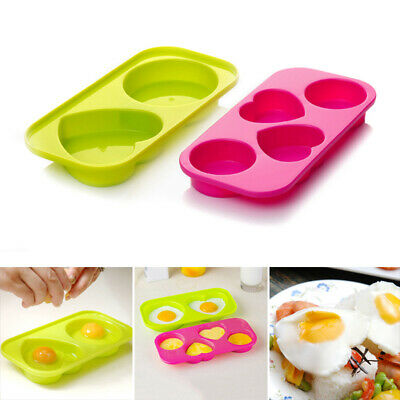 2pcs Egg Bites Molds Non-toxic Odorless Microwave Oven Egg Steamer Kitchen