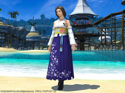 FINAL FANTASY XIV FFXIV FF14 Item Character : High Summoner's Attire